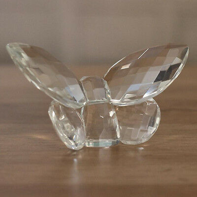 Crystal Butterfly Ornament Home Decor 10cms Crystal Gift in Box - Large Size NEW