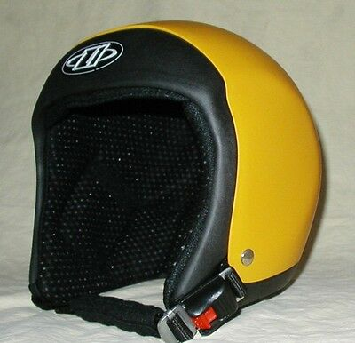 Small Yellow SoftTouch Evo HP Skydiving Helmet