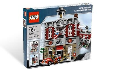 BRAND NEW, RARE, SEALED LEGO # 10197 FIRE BRIGADE, RETIRED AND VERY HARD TO FIND