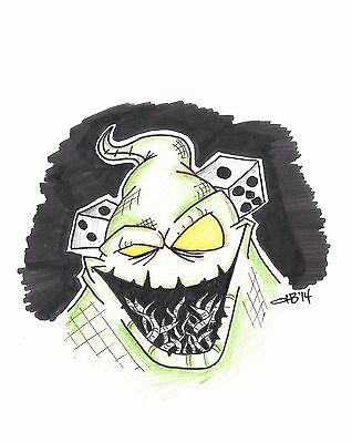 Oogie Boogie Nightmare Before Christmas Drawing
