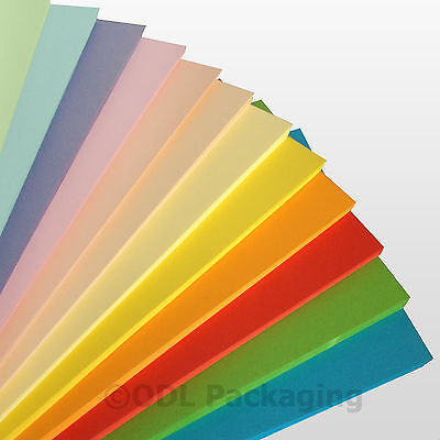 A4 Coloured Paper Craft Card Sheets 80 / 160 gsm