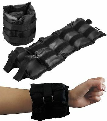 Weight Straps for Wrist or Ankle 1kg 1.5kg 2kg Fully Adjustable Sandbags Workout