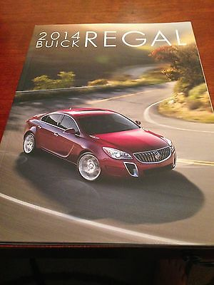 2014 Buick Regal 36-page Original Sales Brochure