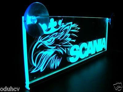 24V LED Interior Cabin Light Plate for SCANIA Truck Neon Illuminating Table Sign