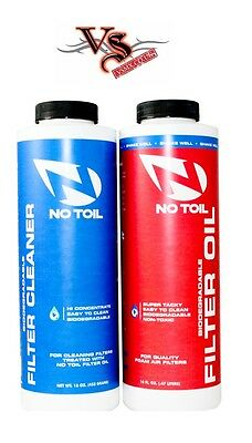 NoToil No Toil 16 oz oil and 16 oz cleaner twin-pack