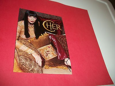 Cher Photo Postcard Caesars Palace 2009