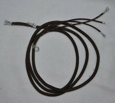 Replacement Handset cord for Western Electric 302 & 202 Telephones ~ F-1 or E1