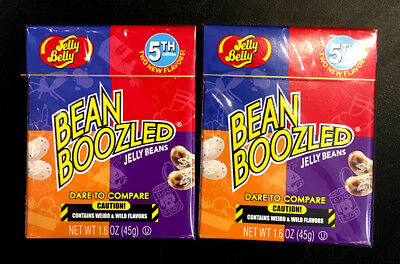 2 x USA Jelly Belly Bean Boozled 4th Edition 45g - bean boozled challenge beans