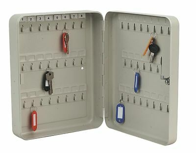 Key Cabinet SAFE Metal Secure Cupboard +45 Key Tags  Corrosion Resistance