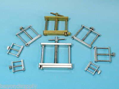 Lab brass electroplating Hoffman style Screw Tubing Clamp  new