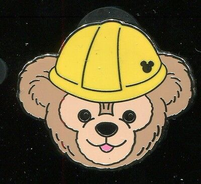 WDW 2012 Hidden Mickey Duffy's Hats Construction Disney Pin 91236