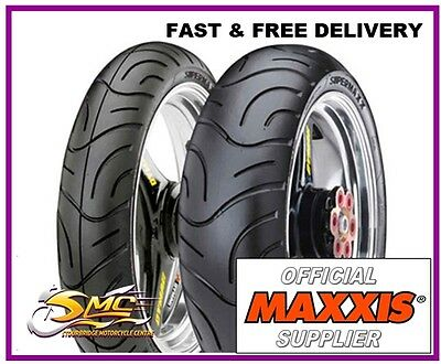200/50-17 120/70-17 ZR Maxxis Supermaxx M-6029 radial motorcycle tyre pair