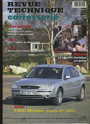 (9A)Revue Technique Carrosserie Ford Mondeo