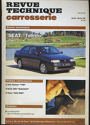 (9A)Revue Technique Carrosserie Seat Toledo