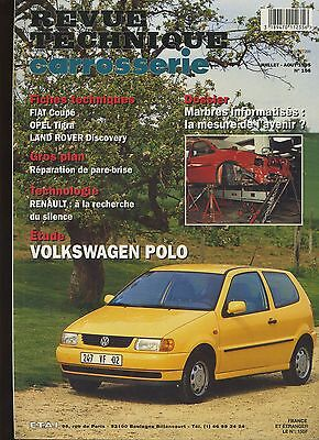 (9A)Revue Technique Carrosserie Volkswagen Polo