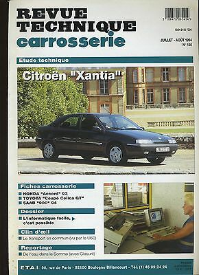 (9A)Revue Technique Carrosserie Citroen Xantia