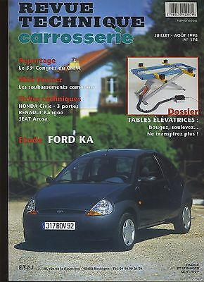 (9A)Revue Technique Carrosserie Ford Ka