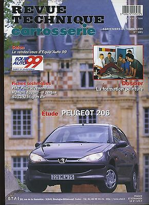 (9A)Revue Technique Carrosserie Peugeot 206