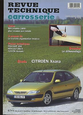 (9A)Revue Technique Carrosserie Citroen Xsara