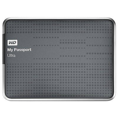 WD My Passport Ultra 2TB USB3.0 Portable Hard Drive w/ Auto Backup WDBMWV0020BTT