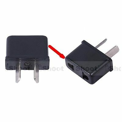 US American EU European to AU Australian AC Power Plug Adapter Travel Converter