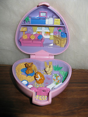 polly pocket heart house