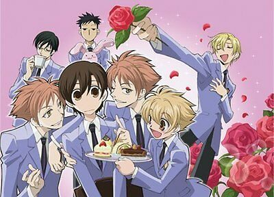*NEW* Ouran High School Host Club Group Dessert Fabric Poster