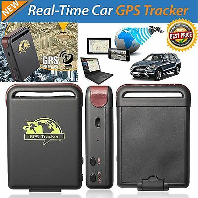 Mini TK102 Real Time Magnetic GPS Car Vehicle Tracker Hidden Device for Tracking