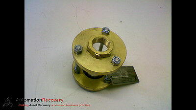 """Jacoby-Tarbox 1"""" 805S Sfi Cylindrical Sight Flow Indicators #154697"""