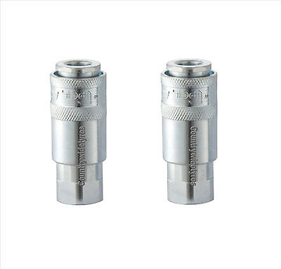 """2 Genuine PCL Airflow coupling airline fitting 1/4""""BSP Female AC21CF"""