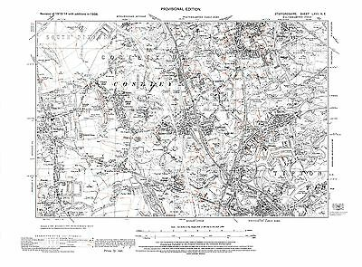 Old Map of Bradley, Sedgley, Coseley, Tipton Green, Staffs. in 1938- Repro 67 NE