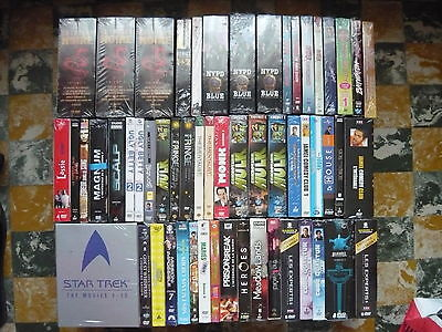 Lot coffret/integrale / saison en dvd - serie / film - rare - a la piece - cello