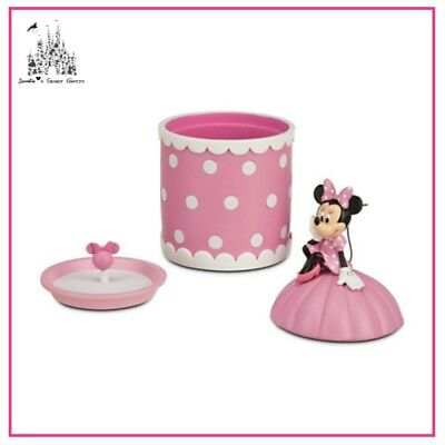 Disney Mickey Mouse Clubhouse Minnie Mouse Pink Jewellery Box Brand New In Box