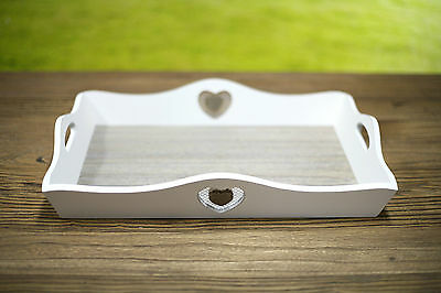 Timber Serving Trays - Heart Featured Home Decor Gift Homewares NEW Two Sizes