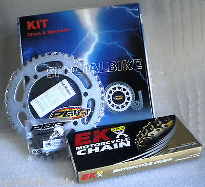 Yamaha Fzs 600 Fazer 1998 > 2003 Pbr / Ek Chain & Sprockets Kit 530 Pitch O-Ring