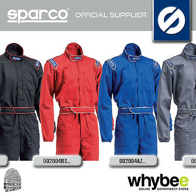 New! Sparco Mx-3 Mx3 Mechanic Suit Overalls Pit Crew - 4 Colours - Sizes S - Xxl
