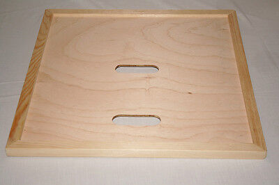 Crown Board - Two Holes - Crownboard - Wbc Beehive - Beekeeping