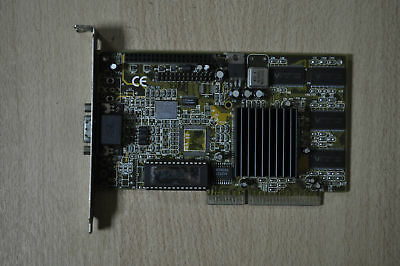 VooDoo BANSHEE 3Dfx AGP 16MB RARE AND COLLECTABLE VIDEO CARD ! WORKING !