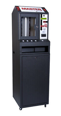 Black Master 4 Column Lottery Pull Tab Vending Machine