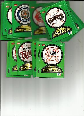 Fleer baseball stickers your choice of 1 sticker per order