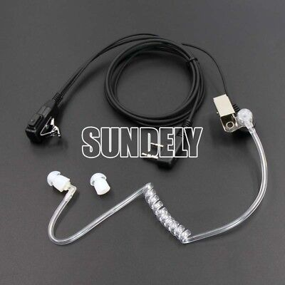 Earpiece Headset PTT Mic For Radio Kenwood TH-F7 Puxing PX-777 Baofeng UV-5R USA