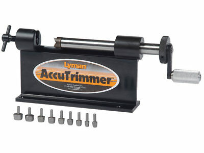 Lyman Accu Trimmer Case Trimmer 9-Pilot Shell Gunsmith Reloading Win Mag  NEW