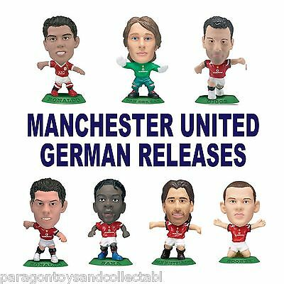 MANCHESTER UNITED German Release MicroStars - Choose from 9 different figures