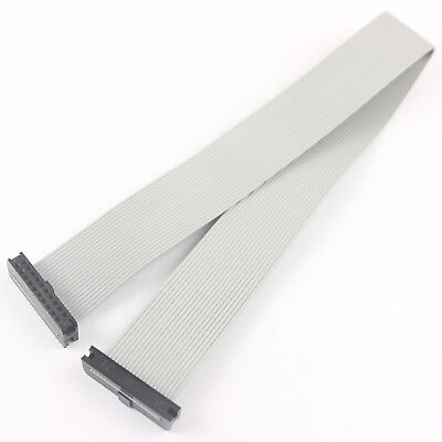 2Pcs 2mm Pitch 2x10 Pin 20 Pin 20 Wire IDC Flat Ribbon Cable Length 30CM