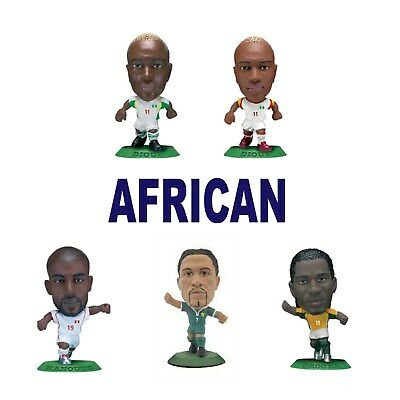 AFRICAN National Team MicroStars - Choose from 11 different figures