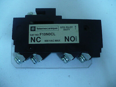 Telemecanique Auxiliary Contact, F10N0CL, New