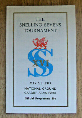 Snelling Sevens 1979 Rugby Programme