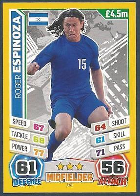 #057-COLOMBIA-MARIO YEPES TOPPS MATCH ATTAX  BRAZIL 2014 WORLD CUP