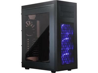 Rosewill ATX Full Game Case - E-ATX, 2 PSU, 7 Fans - Rise Glow