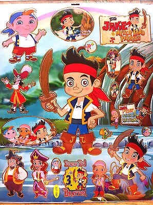 Jake And The Neverland Pirates Wall Sticker Nursery Kids Room Decal